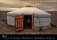 Mongolei - Land der Nomaden (Tischkalender 2019 DIN A5 quer) - Produktdetailbild 5