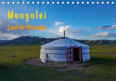 Mongolei - Land der Nomaden (Tischkalender 2019 DIN A5 quer), Roland Störmer