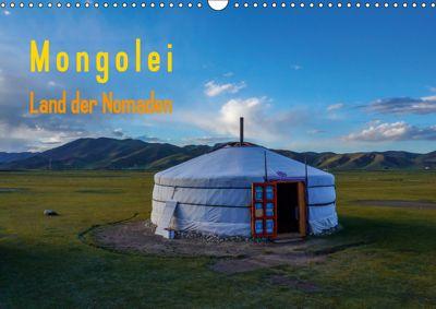 Mongolei - Land der Nomaden (Wandkalender 2019 DIN A3 quer), Roland Störmer
