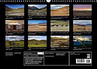 Mongolei - Land der Nomaden (Wandkalender 2019 DIN A3 quer) - Produktdetailbild 13