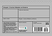 Mongolei - Zwischen Mittelalter und Moderne (Tischkalender 2019 DIN A5 quer) - Produktdetailbild 13