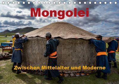 Mongolei - Zwischen Mittelalter und Moderne (Tischkalender 2019 DIN A5 quer), Roland Störmer