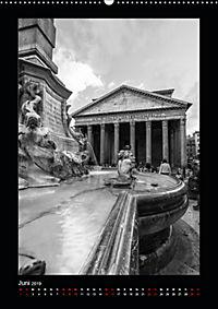 Monochrome Einblicke Rom (Wandkalender 2019 DIN A2 hoch) - Produktdetailbild 6