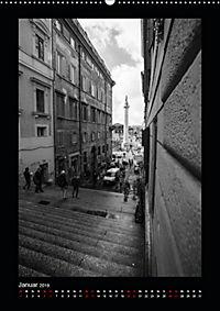 Monochrome Einblicke Rom (Wandkalender 2019 DIN A2 hoch) - Produktdetailbild 1