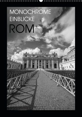 Monochrome Einblicke Rom (Wandkalender 2019 DIN A2 hoch), Gregor Herzog