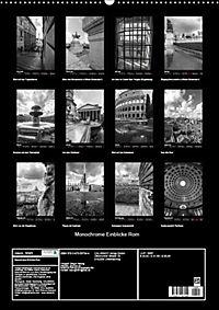 Monochrome Einblicke Rom (Wandkalender 2019 DIN A2 hoch) - Produktdetailbild 13