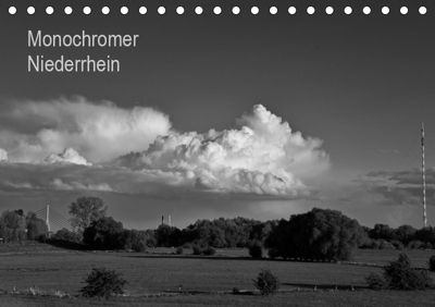Monochromer Niederrhein (Tischkalender 2019 DIN A5 quer), Bernd Steckelbroeck