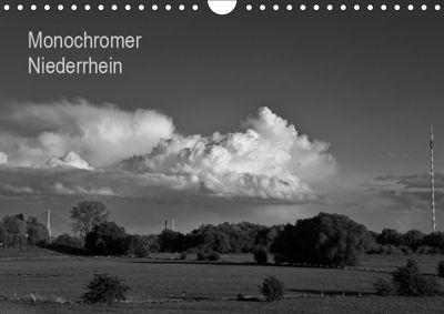 Monochromer Niederrhein (Wandkalender 2019 DIN A4 quer), Bernd Steckelbroeck