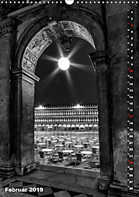 Monochromes Venedig - Klassische Momente (Wandkalender 2019 DIN A3 hoch) - Produktdetailbild 2