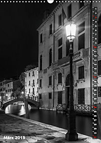 Monochromes Venedig - Klassische Momente (Wandkalender 2019 DIN A3 hoch) - Produktdetailbild 3