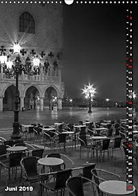 Monochromes Venedig - Klassische Momente (Wandkalender 2019 DIN A3 hoch) - Produktdetailbild 6