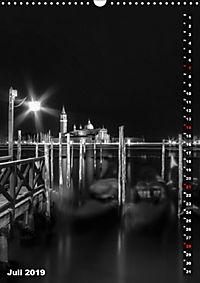 Monochromes Venedig - Klassische Momente (Wandkalender 2019 DIN A3 hoch) - Produktdetailbild 7
