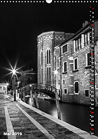Monochromes Venedig - Klassische Momente (Wandkalender 2019 DIN A3 hoch) - Produktdetailbild 5