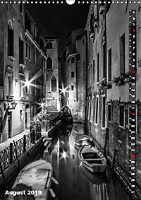 Monochromes Venedig - Klassische Momente (Wandkalender 2019 DIN A3 hoch) - Produktdetailbild 8
