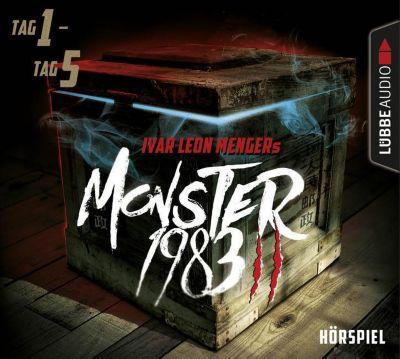 Monster 1983, Staffel II: Folge 01-05, 5 Audio-CDs, Ivar Leon Menger, Raimon Weber, Anette Strohmeyer