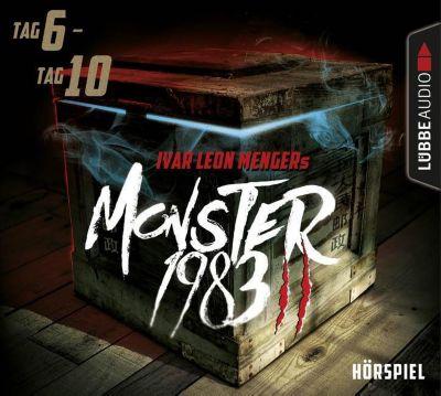 Monster 1983, Staffel II: Folge 06-10, 5 Audio-CDs, Ivar Leon Menger, Anette Strohmeyer, Raimon Weber