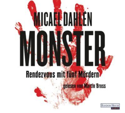 Monster, 4 Audio-CDs, Micael Dahlen
