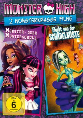 Monster High - 2 monsterkrasse Filme, Diverse Interpreten