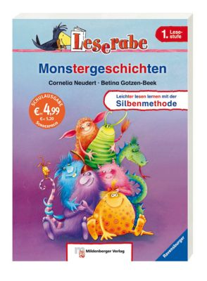 Monstergeschichten, Schulausgabe, Cornelia Neudert