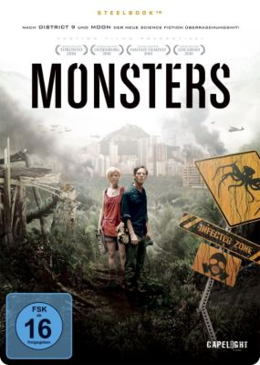 Monsters - Limited Steelbook Edition, Gareth Edwards