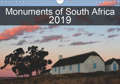 Monuments of South Africa 2019 (Wall Calendar 2019 DIN A4 Landscape), Sebastian Wallroth