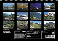 Monuments of Switzerland 2019 (Wall Calendar 2019 DIN A3 Landscape) - Produktdetailbild 13