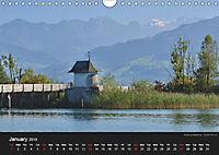 Monuments of Switzerland 2019 (Wall Calendar 2019 DIN A4 Landscape) - Produktdetailbild 1