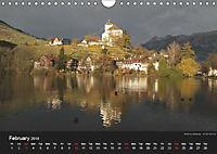 Monuments of Switzerland 2019 (Wall Calendar 2019 DIN A4 Landscape) - Produktdetailbild 2