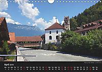 Monuments of Switzerland 2019 (Wall Calendar 2019 DIN A4 Landscape) - Produktdetailbild 4