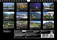 Monuments of Switzerland 2019 (Wall Calendar 2019 DIN A4 Landscape) - Produktdetailbild 13