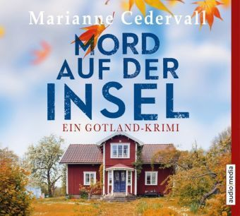 Mord auf der Insel, 5 Audio-CDs, Marianne Cedervall