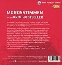 Mordsstimmen lesen Krimi-Bestseller, 5 MP3-CDs - Produktdetailbild 1