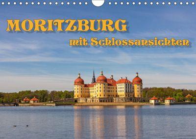 Moritzburg mit Schlossansichten (Wandkalender 2019 DIN A4 quer), Birgit Seifert