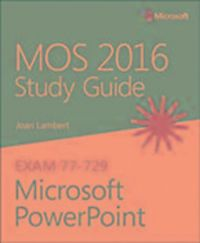 mos 2016 study guide for microsoft powerpoint pdf