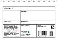 Mosambik 2019 (Tischkalender 2019 DIN A5 quer) - Produktdetailbild 13