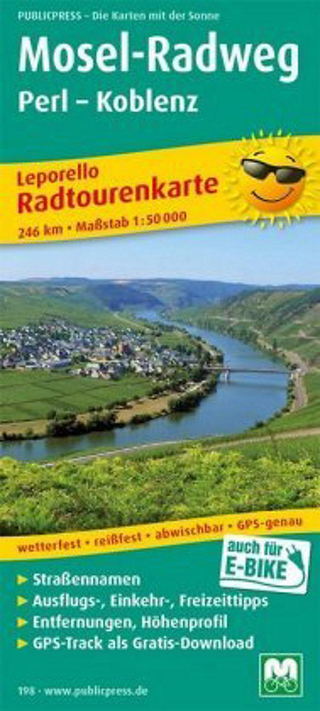 Mosel Radweg Karte Pdf.Mosel Radweg Perl Koblenz Jetzt Online Bei Weltbild De Bestellen