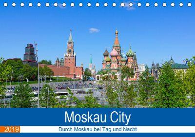 Moskau City (Tischkalender 2019 DIN A5 quer), Markus Nawrocki