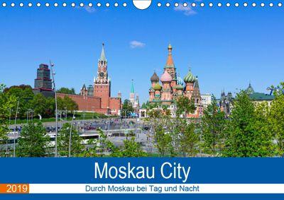 Moskau City (Wandkalender 2019 DIN A4 quer), Markus Nawrocki