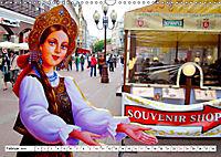 Moskauer Bilderbogen - Begegnungen am Arbat mit Puschkin und Putin (Wandkalender 2019 DIN A3 quer) - Produktdetailbild 2