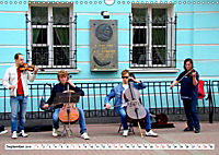 Moskauer Bilderbogen - Begegnungen am Arbat mit Puschkin und Putin (Wandkalender 2019 DIN A3 quer) - Produktdetailbild 9