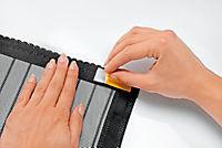 Moskitonetz mit Magnetverschluss, schwarz - Produktdetailbild 5
