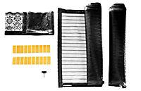 Moskitonetz mit Magnetverschluss, schwarz - Produktdetailbild 4