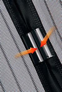 Moskitonetz mit Magnetverschluss, schwarz - Produktdetailbild 8