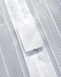 Moskitonetz mit Magnetverschluss, weiß - Produktdetailbild 4
