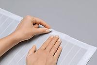 Moskitonetz mit Magnetverschluss, weiß - Produktdetailbild 5