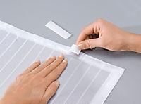 Moskitonetz mit Magnetverschluss, weiß - Produktdetailbild 6
