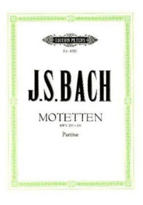 Motetten für 4- bis 8-stimmigen gemischten Chor BWV 225-231, Johann Sebastian Bach