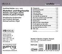 Motetten Und Orgelwerke - Produktdetailbild 1