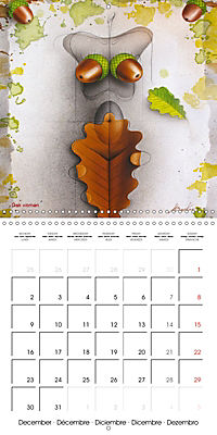 Mother Nature's Beauties 2019 (Wall Calendar 2019 300 × 300 mm Square) - Produktdetailbild 12