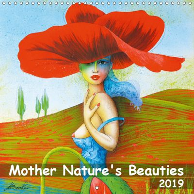 Mother Nature's Beauties 2019 (Wall Calendar 2019 300 × 300 mm Square), Michael Becker